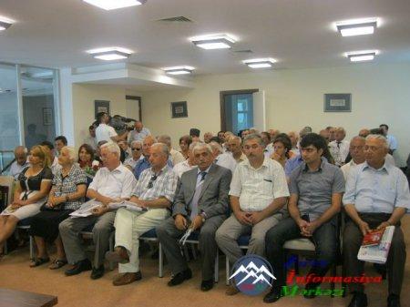 ARXİV: Marneulidə Azərbaycan aliminin 75 illik yubileyi qeyd olunub..