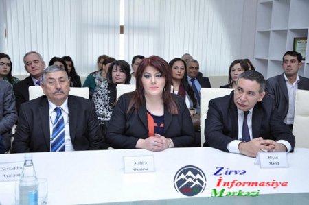 """""""Çanaqqala zəfəri və müasir dövr"""" mövzusunda elmi-ədəbi gecə keçirilib"""