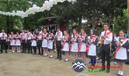 Gürcüstandakı orta məktəblərdə son zəng keçirilib