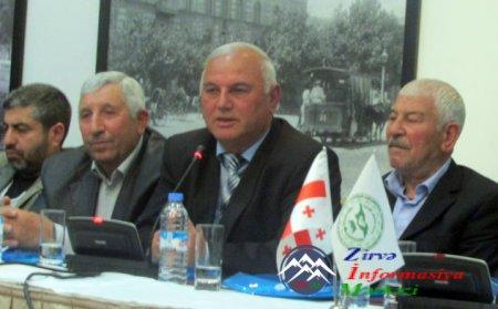 """Tiflisdə """"Haqqa sarı"""" kitabının təqdimatı keçirilib"""
