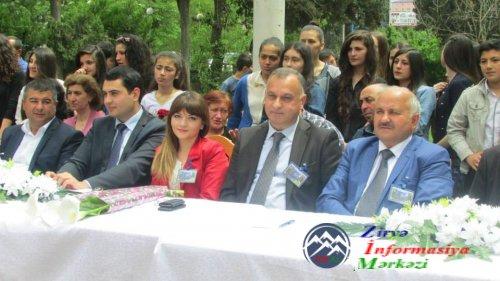 Nərgiz Əliyeva: Marneuli 3 saylı ictimai məktəbdə son zəng