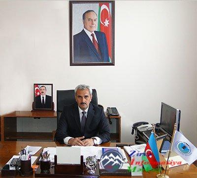 Naxçıvan Dövlət Universitetinin rektoru, AMEA-nın müxbir üzvü, Saleh Məhərr ...