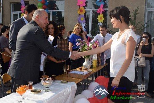 Nazir Paata Zakareişvili Marneuli ictimai məktəblərində qonaq oldu!