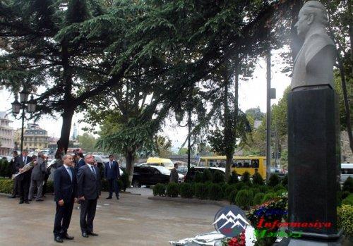 Təhsil naziri Mikayıl Cabbarov Gürcüstana səfər edib