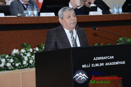 Rəyasət Heyətinin geniş iclasında akademik Ramiz Məmmədovun çıxışı