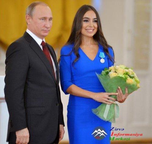 Heydər Əliyev Fondunun vitse-prezidenti Leyla Əliyeva Rusiyanın