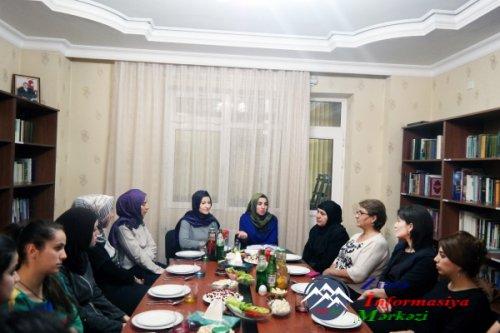 """""""Yeni Yurd""""-un Yasamal rayon şöbəsində görüş keçirilib"""