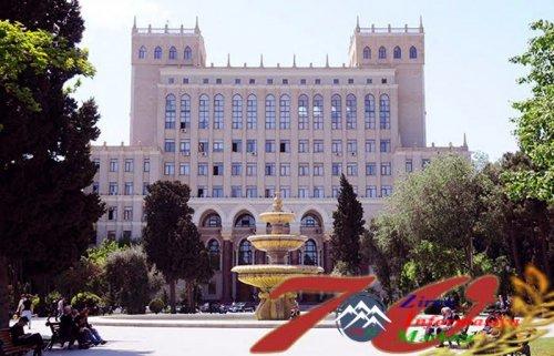 İlham Əliyev AMEA-nın 70 illik yubileyinə həsr olunmuş ümumi yığıncaqda iştirak edib