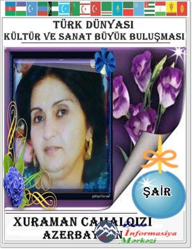 Xuraman Camalqızı: AND İÇİRƏM!..
