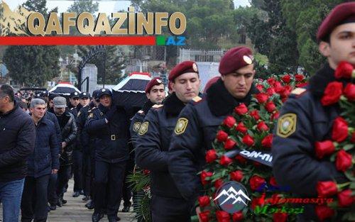 """Azərbaycan prezidenti Nardaranda həlak olmuş polisləri """"Azərbaycan Bayrağı"""" ordeni ilə təltif edib"""