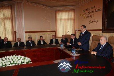 BDU-da ümummilli lider Heydər Əliyevin anım günü ilə əlaqədar tədbir keçiri ...