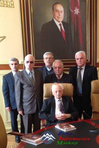 Professor Pənah Xəlilovun 90 illik yubileyi