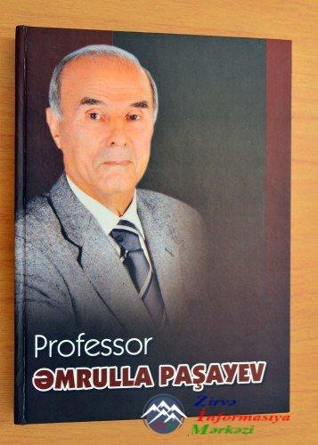 """Pedaqoji Universitetində """"Professor Əmrulla Paşayev"""" kitabının təqdimatı ol ..."""