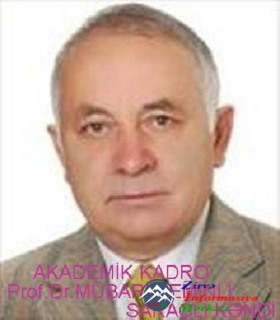Prof.Dr. Mübariz EMİNLİ (SARAÇLI)
