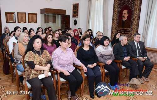 Milli Azərbaycan Ədəbiyyatı Muzeyində 20 Yanvar faciəsinə həsr olunan elmi sessiya keçirilib