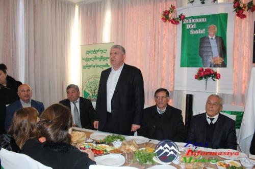 Rustavidə Xalq şairi Zəlimxan Yaqubun anım mərasimi keçirilib