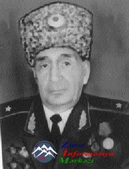 General AYVAZ QARA OĞLU İSMAYILOV  (1927-2000)