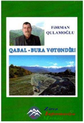 """Yeni kitab: """"Qabal – bura Vətəndir"""""""