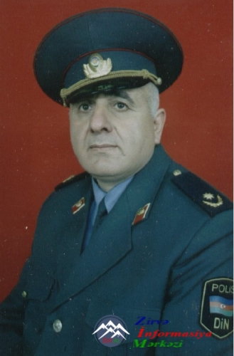 Mayor FİRDOVSİ BAYRAMOV (1954)