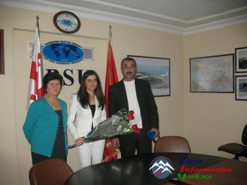 27 yaşlı soydaşımız Gürcüstanda fəlsəfə doktoru adına layiq görülüb