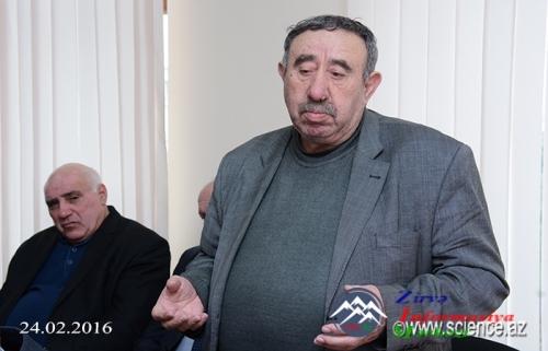 Xocalı soyqırımının 24-cü ildönümü Dilçilik İnstitutunda qeyd edilib