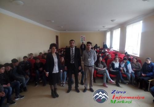 Dmanisi rayonundakı Azərbaycan dilli məktəblilər arasında olimpiada keçirilib