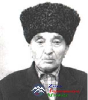 Aşıq Dəllək Paşa. (1887 - 1976)