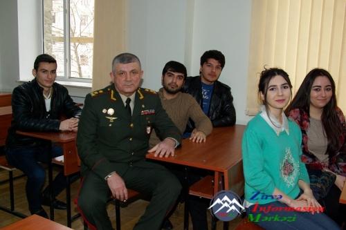 General-leytenant Heydər Piriyev AzTU-da olmuşdur