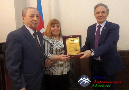 Mətbuat Şurası jurnalist Şəmsiyyə Kərimovanın 60 illik yubileyi münasibətil ...