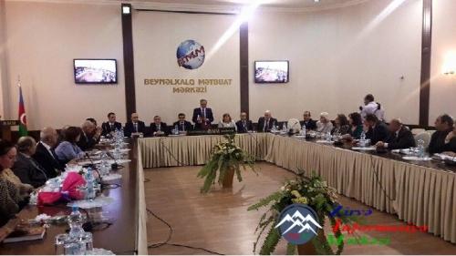 Mətbuat Şurası jurnalist Şəmsiyyə Kərimovanın 60 illik yubileyi münasibətilə toplantı təşkil edib