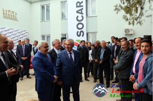 Gürcüstanda SOCAR-ın maliyyə vəsaiti hesabına təmir olunmuş daha bir məktəb istifadəyə verilib