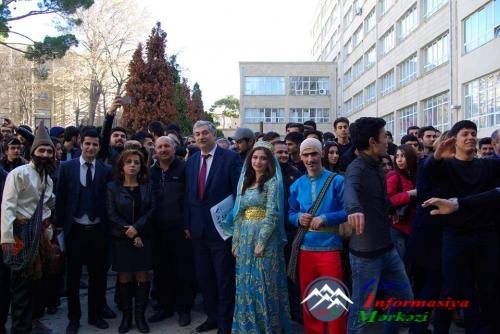 AzTU-da möhtəşəm Novruz şənliyi