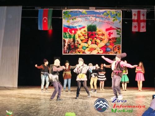 Rustavidə azərbaycanlılar və gürcülər Novruz bayramını birlikdə qeyd ediblər