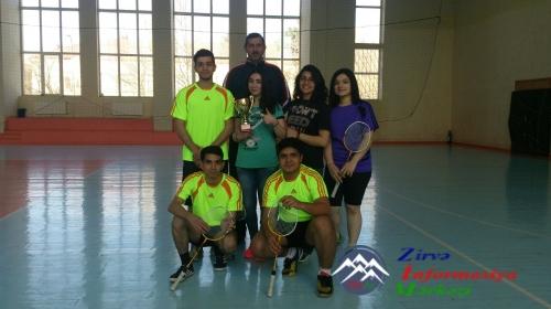 Badminton idman növü üzrə Respublika Çempionatı keçirilmişdir
