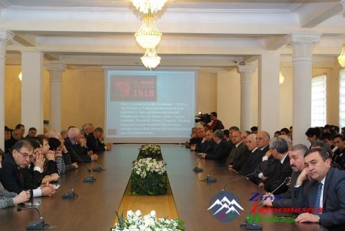 AzTU-da 31 Mart Soyqrımı Günü qeyd olundu