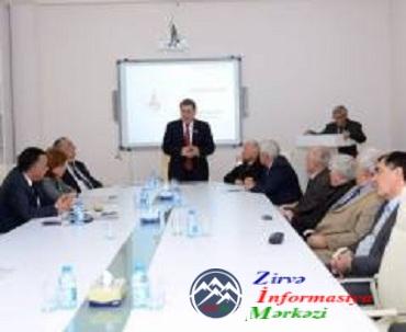 """Ədəbiyyat İnstitutunda """"Ədəbi proses-2015"""" mövzusunda elmi-yaradıcılıq müşa ..."""