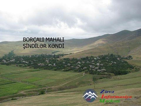 BAŞKEÇİD rayonu ŞİNDİLƏR kəndi