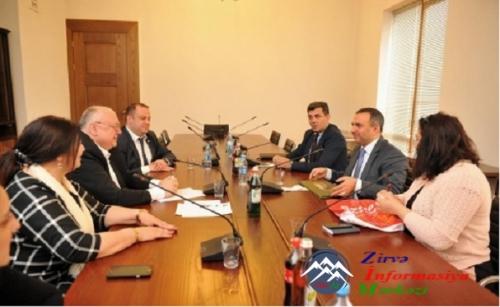 DAK nümayəndə heyəti Gürcüstan Parlamentində görüşlər keçirib