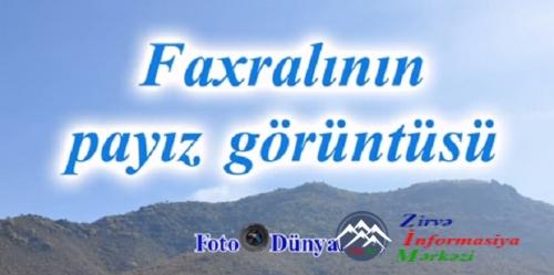 ULU BORÇALIMIZIN QƏDİM FAXRALI ELİnin PAYIZ GÖRÜNTÜLƏRİ...