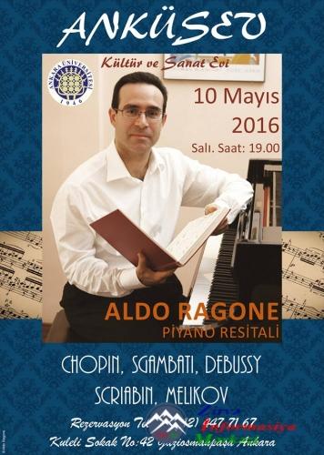 Milli musigimizi çalan yegane Italyali pianist Aldo Ragone