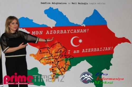 """18 MƏŞHURUN DİLİNDƏN """"MƏN AZƏRBAYCANAM"""" HAYQIRTISI – VİDEO - FOTOSESSİYA"""