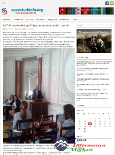 Azərbaycançılıq ideyası və milli-mənəvi inkişaf mövzusunda yeni layihənin i ...