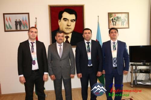 MDB PAA DİMBİ Bakı filialının əməkdaşları Tacikistanda keçirilmiş referendu ...