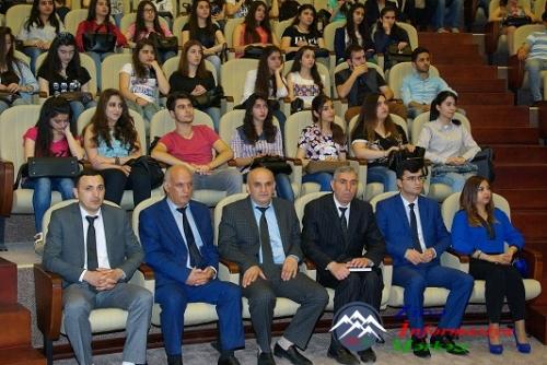 AzTU-nun I kurs tələbələrinə SABAH qruplarının təqdimatı keçirilib