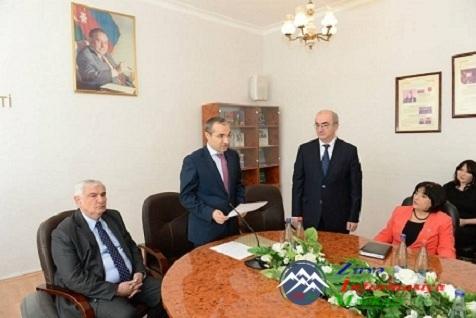 BSU-nun yeni rektoru təqdim edildi