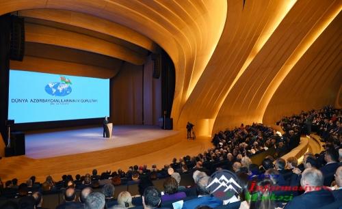 Bakıda Dünya Azərbaycanlılarının IV Qurultayı keçirilib