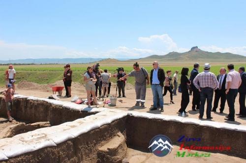 Arxeoloqlar Borçalının qədim İmir kəndində arxeoloji qazıntılar aparırlar