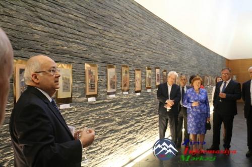 Andorrada Nizami Gəncəvinin 875-ci ildönümünə həsr olunmuş sərgi keçirilib