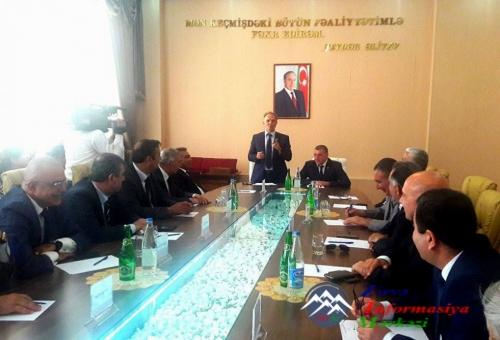 """Saatlıda """"Heydər Əliyev fenomeni: qurtuluşdan inkişafa doğru"""" mövzusunda konfrans keçirilib"""