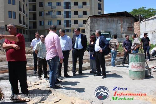 Marneulidə yaşayan qaçqınlara nazirlik 50 mənzil aldı